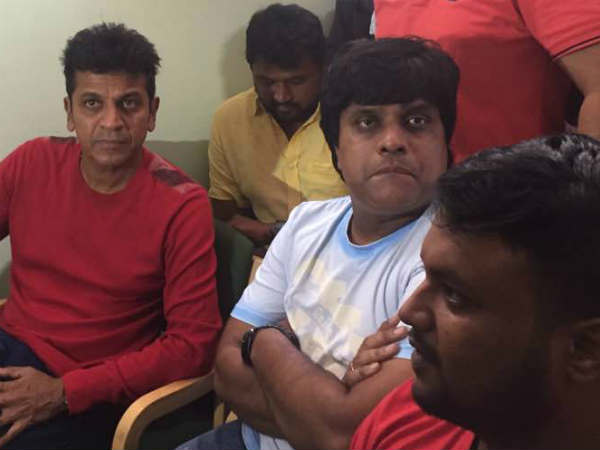 Shivarajkumar visited Mysuru for 'Bangara s/o Bangarada Manushya' movie promotion