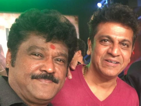 Jaggesh wish to Shiva Rajkumar's 55th Birthday