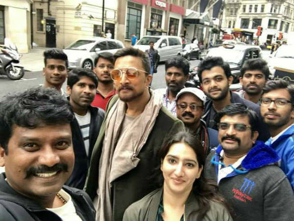 In pics: 'The Villain' shooting in London.