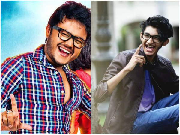 Sanjith Hegde got the chance to sing in 'Chamak' movie