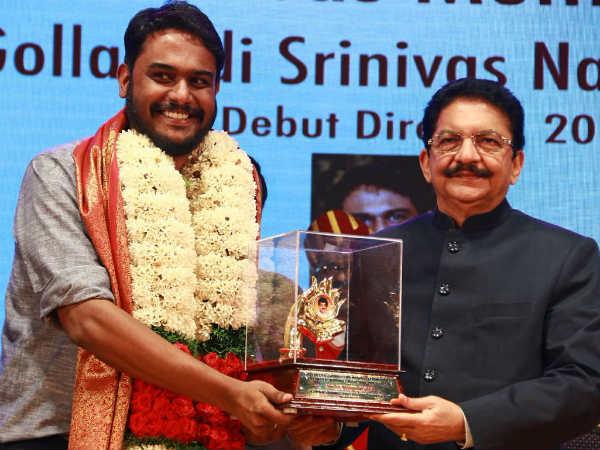 'ಗೊಲ್ಲಪುಡಿ ಶ್ರೀನಿವಾಸ್' ರಾಷ್ಟ್ರ ಪ್ರಶಸ್ತಿ ಪಡೆದುಕೊಂಡ ಕನ್ನಡದ ಹೇಮಂತ್ ರಾವ್