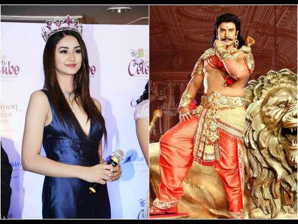 'ಕುರುಕ್ಷೇತ್ರ' ಚಿತ್ರಕ್ಕಾಗಿ ಕನ್ನಡಕ್ಕೆ ಬಂದ 'ಮಿಸ್ ಇಂಡಿಯಾ' ಅದಿತಿ