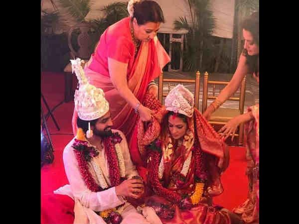 ಚಿತ್ರಗಳು: ದಾಂಪತ್ಯ ಜೀವನಕ್ಕೆ ಕಾಲಿಟ್ಟ ಬಾಲಿವುಡ್ ಬೊಂಬೆ ರಿಯಾ ಸೇನ್
