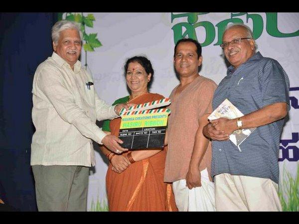 ಎಚ್.ಎಸ್.ವಿ ಅವರ 'ಹಸಿರು ರಿಬ್ಬನ್' ಚಿತ್ರಕ್ಕೆ ಸಿಕ್ತು ಅಧಿಕೃತ ಚಾಲನೆ