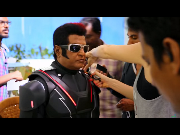 ವಿಡಿಯೋ: 'ಹಾಲಿವುಡ್'ನ ಮೀರಿಸುವಂತೆ ಸಿದ್ದವಾಗಿದೆ '2.0' ಚಿತ್ರ