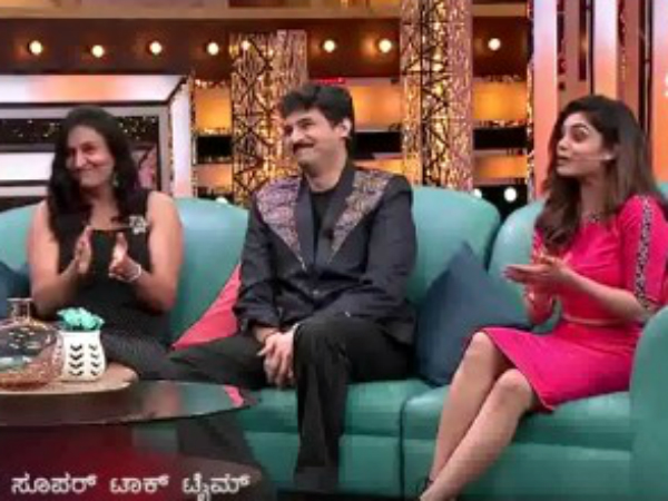 Rajesh Krishnan, Bhavana and Rekha takes part in 'Super Talk Time'