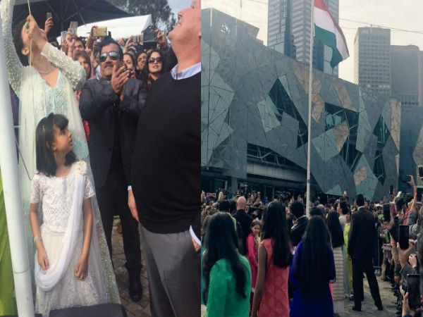 Aishwarya Rai becomes first woman to hoist Indian flag at iffm
