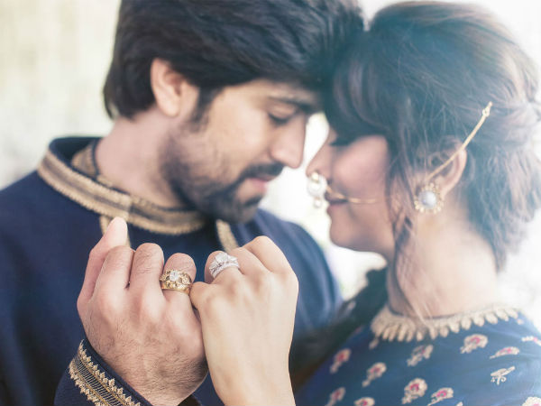 Its been a year for Yash-Radhika Pandit engagement
