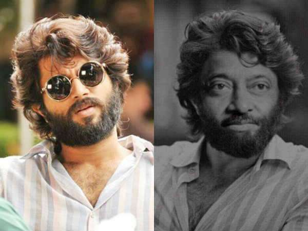 Ram Gopal Varma as a Arjun Reddy