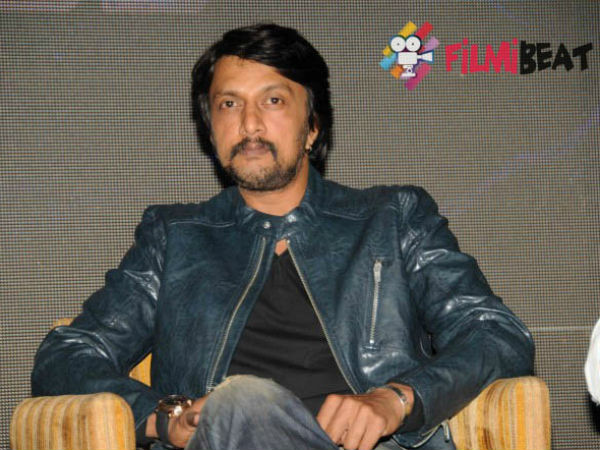 Sudeep spoke about direction