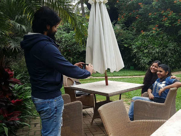 In pic: Radhika Pandit reveals rare pic of Yash