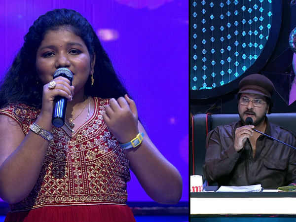 V.Ravichandran becomes emotional in Udaya Singer Juniors reality show