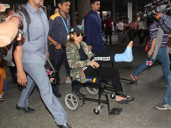 Kangana Ranaut injured while shooting of Manikarnika