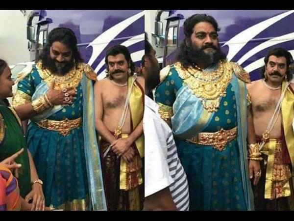 ದರ್ಶನ್ 'ಕುರುಕ್ಷೇತ್ರ'ದ ಚಿತ್ರದ 'ಶಕುನಿ' ಲುಕ್ ರಿವಿಲ್