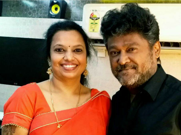 Jaggesh has expressed his opinion about his wife Parimala Jaggesh's small screen debut.