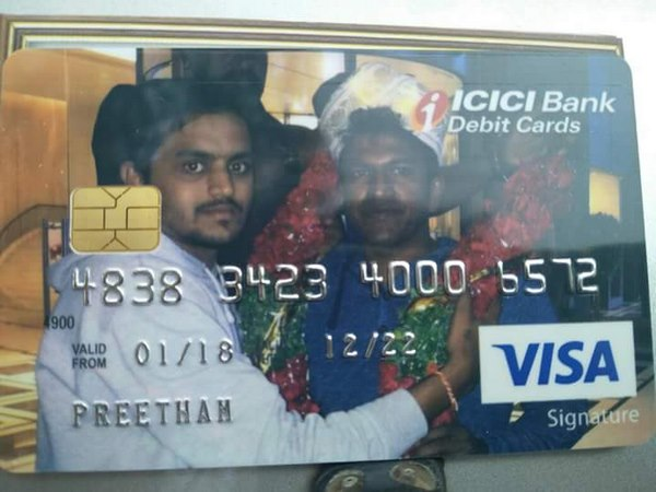 fans started putting Puneeth Rajkumar and Darshan photos on an ATM