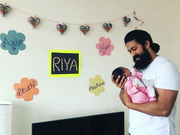 Yash and Radhika named the baby Riya.