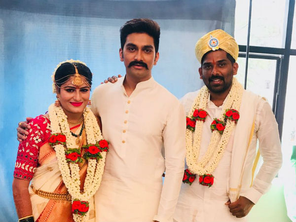 actress Deepa Gowda and Arun married today(feb. 18),