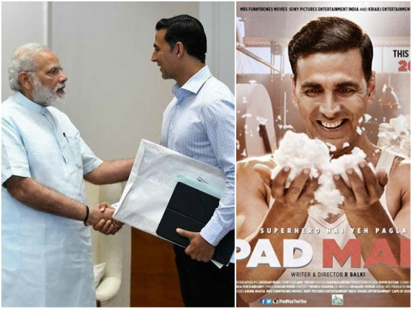 Narendra Modi will watch Padman hindi movie