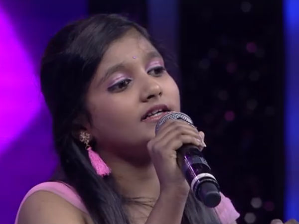 Ankitha will sing mungaru male 2 song in Sarigamapa Season 14