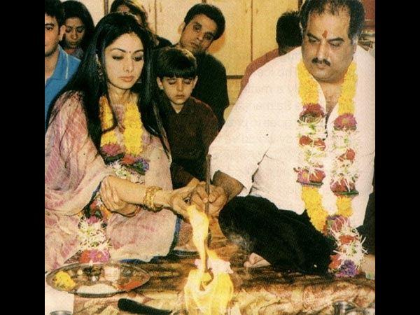 ವಿವಾದಗಳ ಸುಳಿಯಲ್ಲೇ ಒಂದಾಗಿದ್ದ ಶ್ರೀದೇವಿ-ಬೋನಿ ಕಪೂರ್