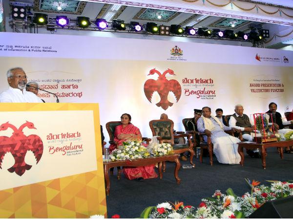 '10ನೇ ಬೆಂಗಳೂರು ಅಂತರಾಷ್ಟ್ರೀಯ ಸಿನಿಮೋತ್ಸವ'ದ ಪ್ರಶಸ್ತಿ ಪಟ್ಟಿ