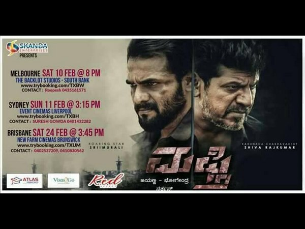 Tagaru and mufti kannada movie will be releasing in foreign countries