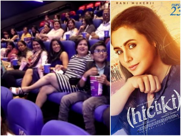 A special screening of Hichki was hosted for over 100 teachers