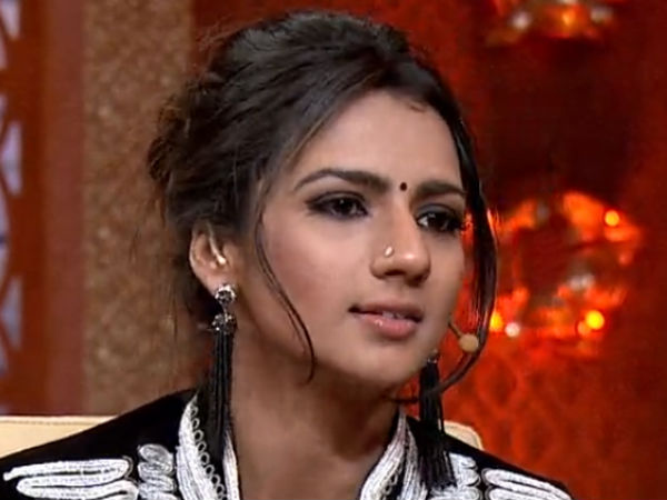 Actress Sruthi Hariharan spoke about remuneration discrimination in movie industry