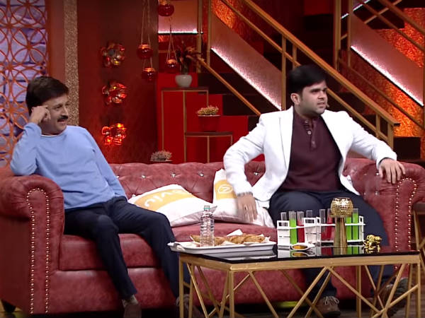 Ramesh Aravind in No1 yari with Shivanna program