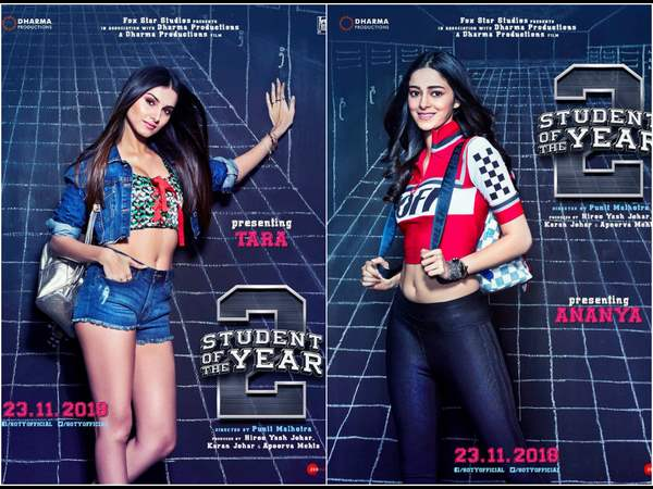 Ananya Panday heroine in Students of the Year 2