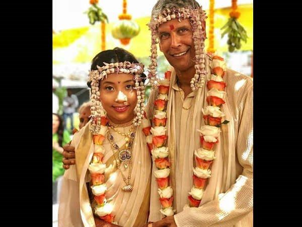 53ನೇ ವಯಸ್ಸಿನಲ್ಲಿ ಸೂಪರ್ ಮಾಡೆಲ್ ಮಿಲಿಂದ್ ಸೋಮನ್ ಮತ್ತೊಂದು ಮದುವೆ!
