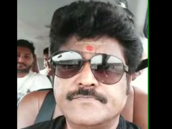 Kannada actor jaggesh attacked to person