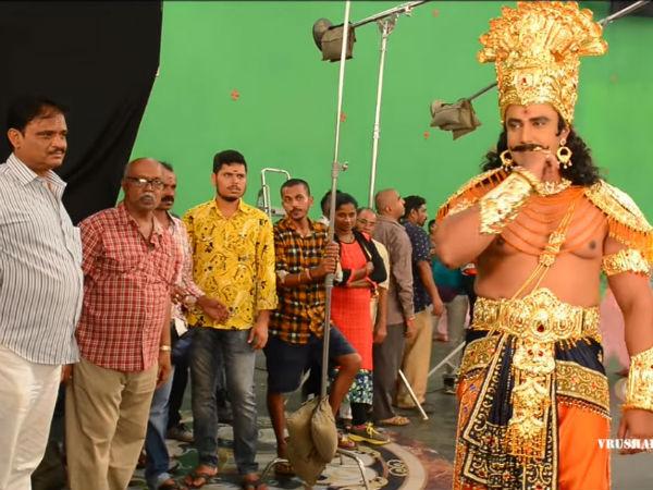 ವಿಡಿಯೋ: 'ಕುರುಕ್ಷೇತ್ರ' ಚಿತ್ರದ ಎಕ್ಸ್ ಕ್ಲೂಸಿವ್ ಮೇಕಿಂಗ್
