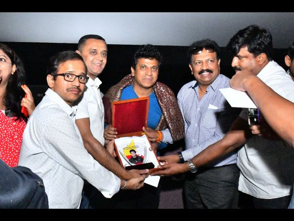 Shivaraj Kumar has been honored with a Global Star