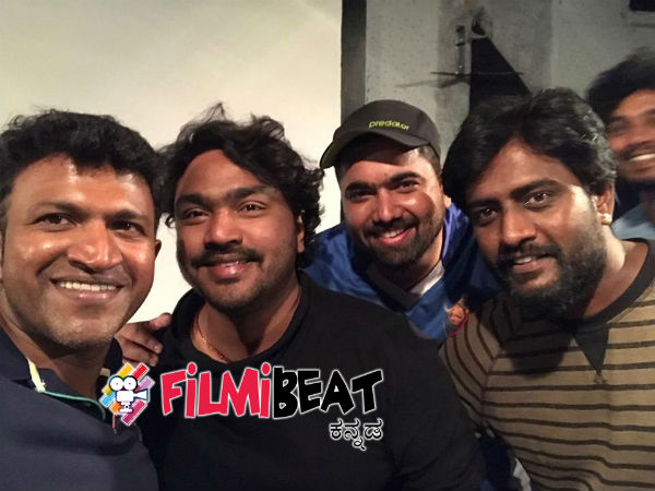 Puneeth Rajkumar Sings for Rambo 2 kannada movie