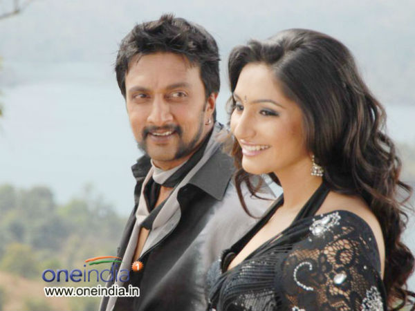 Ragini Dwivedi is waiting to have a onscreen kiss with Kiccha Sudeep