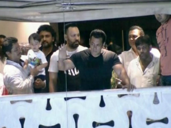 Salman Khan reaches home after two nights in Jail
