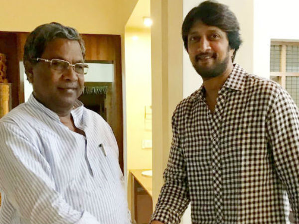 Sudeep is not campaigning for Badami in favor of CM Siddaramaiah