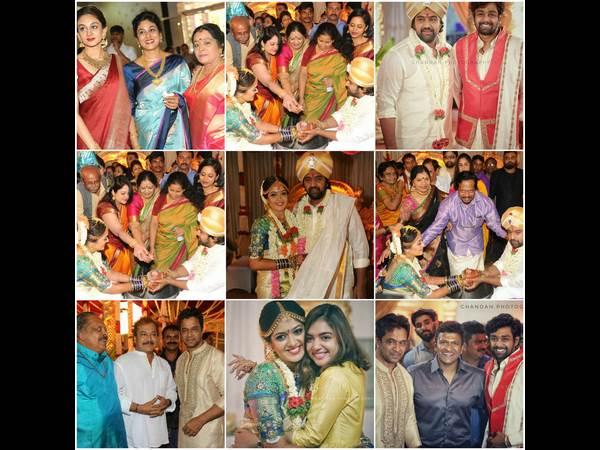 ಚಿತ್ರಗಳು: ಚಿರು ಸರ್ಜಾ-ಮೇಘನಾ ಮದುವೆ ಕಣ್ತುಂಬಿಕೊಳ್ಳಿ