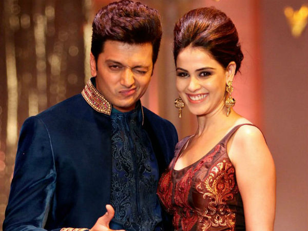Genelia and Riteish Deshmukhs Marathi Film starts