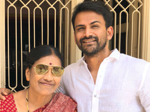 Dhananjaya wrote poetry in the name of Nannavva as part of Mothers Day