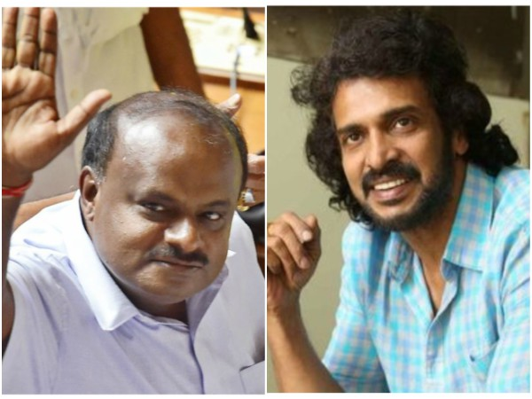 Upendra has congratulate Kumaraswamy on Twitter