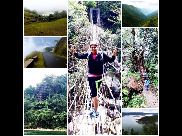 Sudeeps wife Priya has gone on a tour of Meghalaya