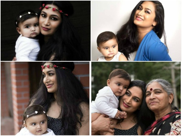 Shweta Srivastav and daughter Asmita have shot for mothers day
