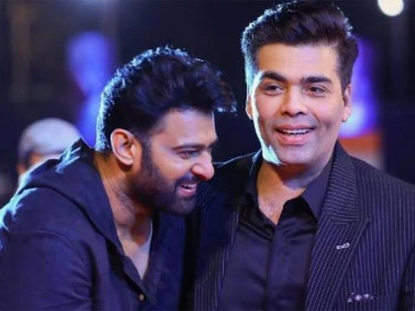 Prabhas breaks silence on his fight with Karan Johar