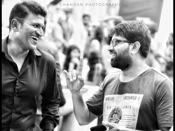 Johnny Master is choreographing for Puneeth Rajkumar