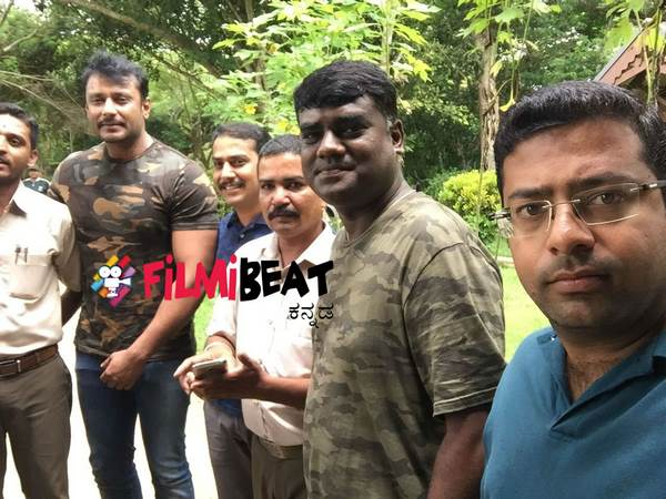 Darshan visited Kabini back forest with his friends