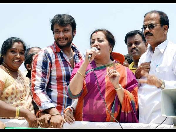 ದರ್ಶನ್ 'ಬಾಸ್' ಎಂದು ಬಾಯ್ತುಂಬ ಕರೆದ ಸುಮಲತಾ
