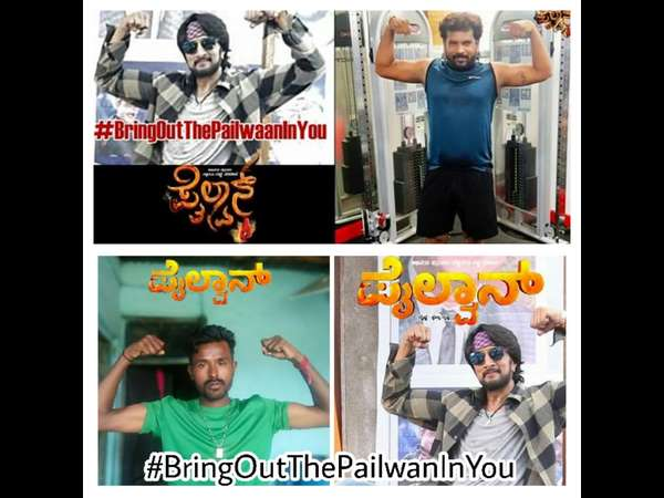 Sudeep fans have accepted Bring Out the Pailwan in You Challenge